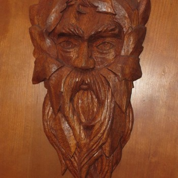 Transitional Green Man ( Mahogany )