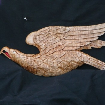 Curly Maple Eagle